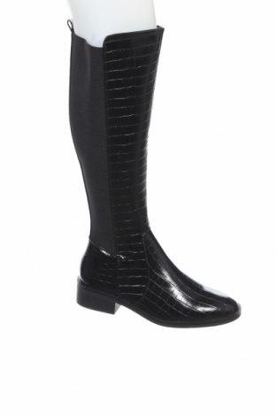 Γυναικείες μπότες New Look, Μέγεθος 40, Χρώμα Μαύρο, Δερματίνη, Τιμή 30,74€