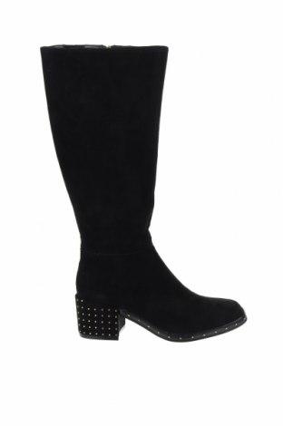 Дамски ботуши TWINSET, Размер 39, Цвят Черен, Текстил, Цена 239,25лв.