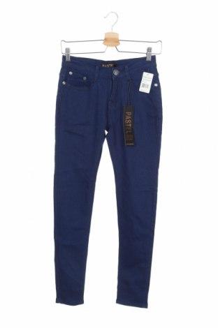 Дамски дънки, Размер S, Цвят Син, 78% памук, 19% полиестер, 3% еластан, Цена 31,40лв.