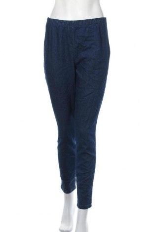 Дамски дънки, Размер M, Цвят Син, 79% памук, 20% полиестер, 1% еластан, Цена 17,64лв.