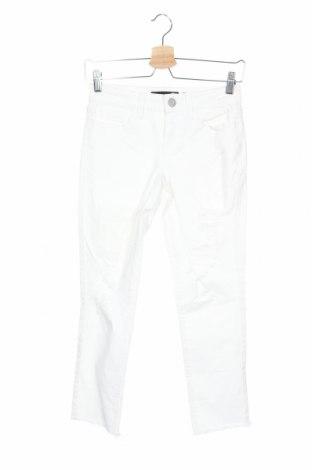 Дамски дънки Aeropostale, Размер XS, Цвят Бял, 98% памук, 2% еластан, Цена 8,14лв.