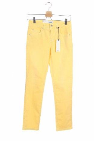 Dámské džíny  Angels, Velikost XS, Barva Žlutá, 98% bavlna, 2% elastan, Cena  273,00Kč