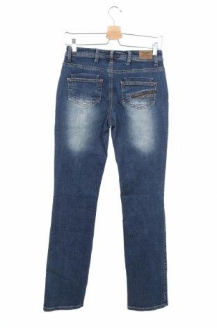Дамски дънки Arizona, Размер XS, Цвят Син, 99% памук, 1% еластан, Цена 30,96лв.