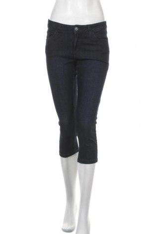 Дамски дънки C&A, Размер S, Цвят Син, 84% памук, 14% полиестер, 2% еластан, Цена 6,55лв.