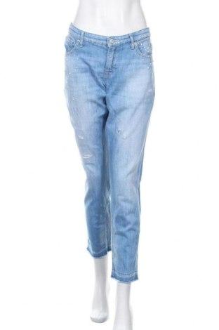 Дамски дънки Cambio, Размер XL, Цвят Син, 98% памук, 2% еластан, Цена 33,00лв.