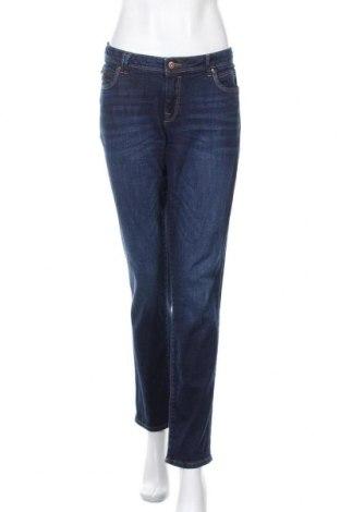 Дамски дънки Edc By Esprit, Размер XL, Цвят Син, 98% памук, 2% еластан, Цена 23,25лв.