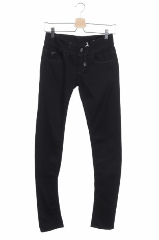 Дамски дънки G-Star Raw, Размер S, Цвят Черен, 98% памук, 2% еластан, Цена 61,32лв.