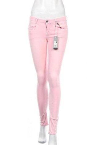 Дамски дънки G-Star Raw, Размер S, Цвят Розов, Памук, еластан, полиестер, Цена 35,82лв.