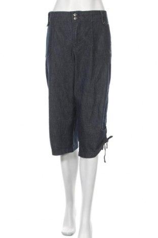 Дамски дънки Gloria Vanderbilt, Размер XXL, Цвят Син, 70% памук, 29% полиестер, 1% еластан, Цена 19,32лв.