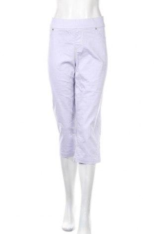Дамски дънки Grae, Размер XL, Цвят Лилав, 64% памук, 33% полиестер, 3% еластан, Цена 26,93лв.