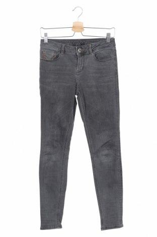 Дамски дънки Hallhuber, Размер XS, Цвят Сив, 98% памук, 2% еластан, Цена 26,25лв.