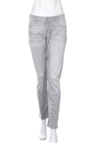 Дамски дънки Hallhuber, Размер M, Цвят Сив, 98% памук, 2% еластан, Цена 28,50лв.