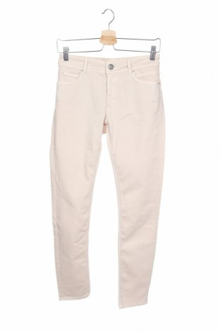 Дамски дънки Hallhuber, Размер XS, Цвят Бежов, 98% памук, 2% еластан, Цена 21,95лв.