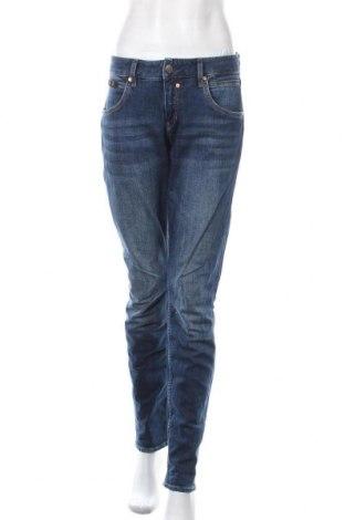 Дамски дънки Herrlicher, Размер L, Цвят Син, 98% памук, 2% еластан, Цена 44,52лв.