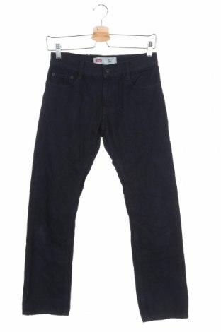 Dětské džíny  Levi's, Velikost 11-12y/ 152-158 cm, Barva Modrá, 71% bavlna, 23% polyester, 6% viskóza, Cena  402,00Kč
