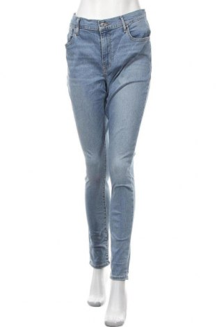 Дамски дънки Levi's, Размер XXL, Цвят Син, 85% памук, 9% полиестер, 6% еластан, Цена 99,00лв.