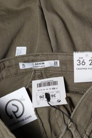 Дамски дънки Lft, Размер S, Цвят Зелен, 98% памук, 2% еластан, Цена 25,74лв.