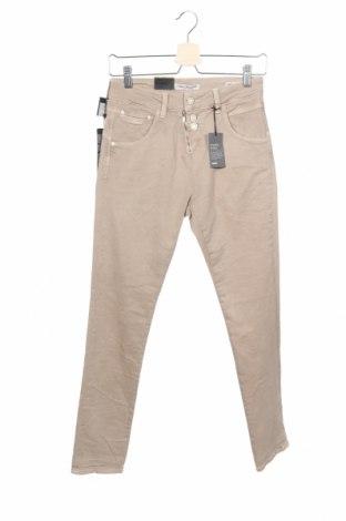 Дамски дънки Mavi, Размер XS, Цвят Бежов, 97% памук, 3% еластан, Цена 22,96лв.