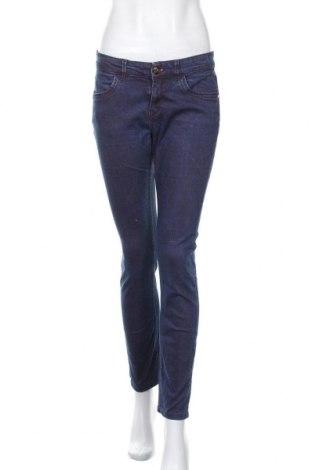 Дамски дънки Mexx, Размер L, Цвят Син, 97% памук, 3% еластан, Цена 23,25лв.