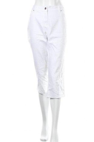 Дамски дънки Millers, Размер XL, Цвят Бял, 71% памук, 27% полиестер, 2% еластан, Цена 9,45лв.