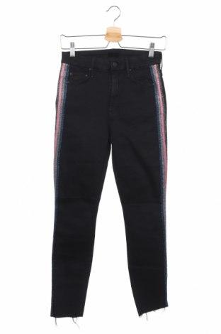 Дамски дънки Mother, Размер XS, Цвят Черен, 92% памук, 5% полиестер, 3% еластан, Цена 27,72лв.