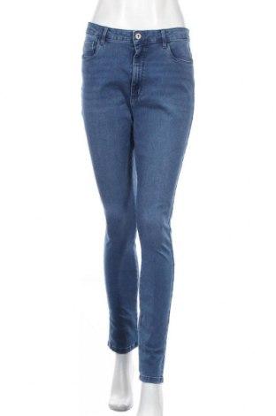 Дамски дънки ONLY, Размер XL, Цвят Син, 69% памук, 29% полиестер, 2% еластан, Цена 39,00лв.