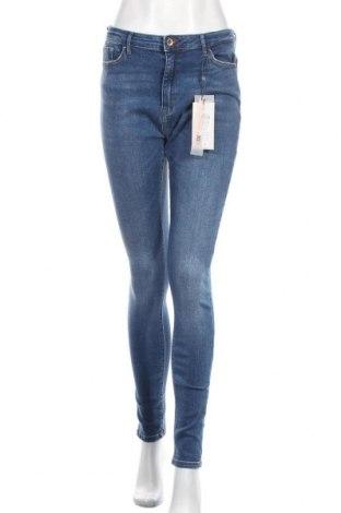 Dámské džíny  ONLY, Velikost L, Barva Modrá, 98% bavlna, 2% elastan, Cena  453,00Kč