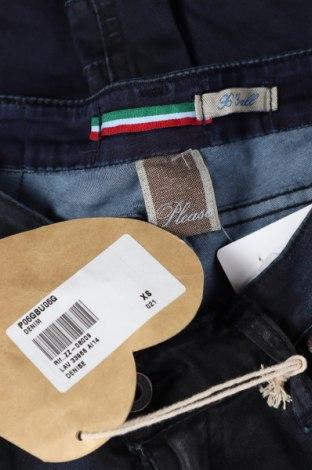 Дамски дънки Please, Размер XS, Цвят Син, 98% памук, 2% еластан, Цена 121,50лв.