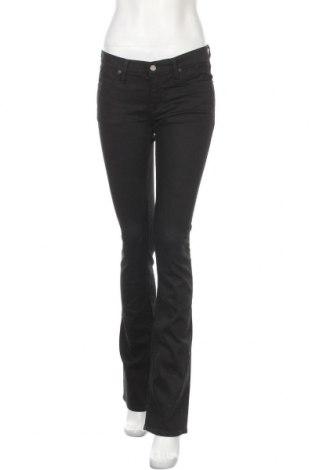 Дамски дънки Ralph Lauren, Размер S, Цвят Черен, 98% памук, 2% еластан, Цена 112,14лв.
