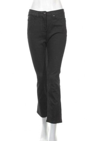 Дамски дънки Vivance, Размер S, Цвят Черен, 98% памук, 2% еластан, Цена 12,13лв.
