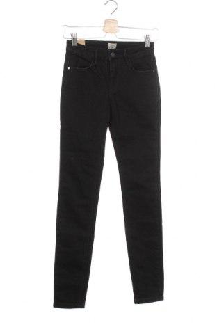 Дамски дънки Zuiki, Размер XS, Цвят Черен, 70% памук, 28% полиестер, 2% еластан, Цена 31,32лв.