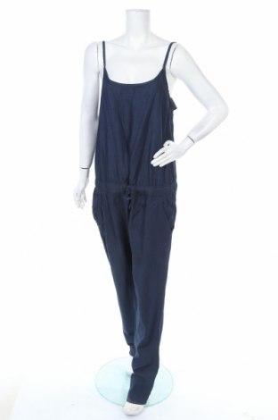Дамски дънков гащеризон Blue Motion, Размер XL, Цвят Син, Памук, Цена 27,93лв.