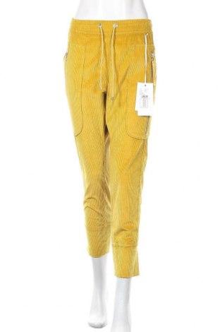 Дамски джинси Mac, Размер XL, Цвят Жълт, 75% памук, 23% полиестер, 2% еластан, Цена 116,07лв.