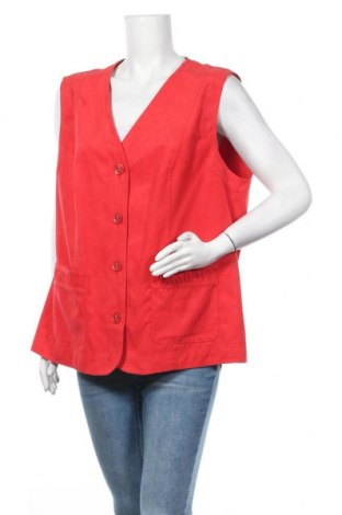 Дамски елек Erfo, Размер XL, Цвят Червен, Полиестер, Цена 6,83лв.