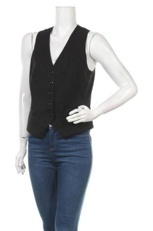 Дамски елек H&M, Размер L, Цвят Черен, 64% полиестер, 33% вискоза, 3% еластан, Цена 16,17лв.