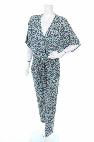 Дамски гащеризон H&M, Размер XL, Цвят Многоцветен, Вискоза, Цена 31,92лв.