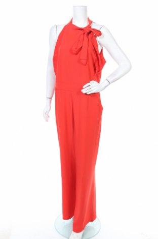 Дамски гащеризон Liz Jordan, Размер XL, Цвят Червен, 97% полиестер, 3% еластан, Цена 20,58лв.