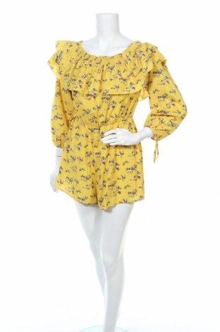 Дамски гащеризон Showpo, Размер M, Цвят Жълт, Полиестер, Цена 11,81лв.