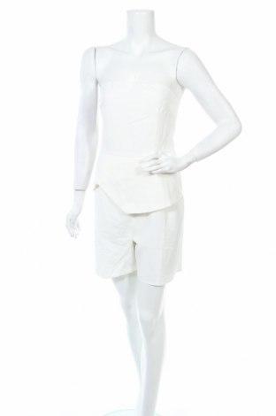 Дамски гащеризон Unique 21, Размер L, Цвят Бял, 95% полиестер, 5% еластан, Цена 27,60лв.