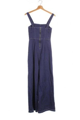 Γυναικεία σαλοπέτα Zara Trafaluc, Μέγεθος XS, Χρώμα Μπλέ, 99% βαμβάκι, 1% ελαστάνη, Τιμή 20,65€