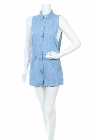 Γυναικεία σαλοπέτα Zara Trafaluc, Μέγεθος S, Χρώμα Μπλέ, Βαμβάκι, Τιμή 19,74€