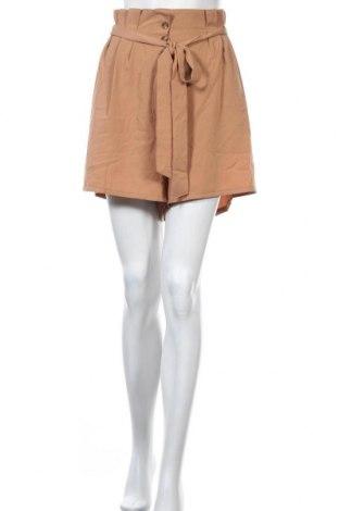Γυναικείο κοντό παντελόνι Ally, Μέγεθος XL, Χρώμα Καφέ, Πολυεστέρας, Τιμή 12,15€