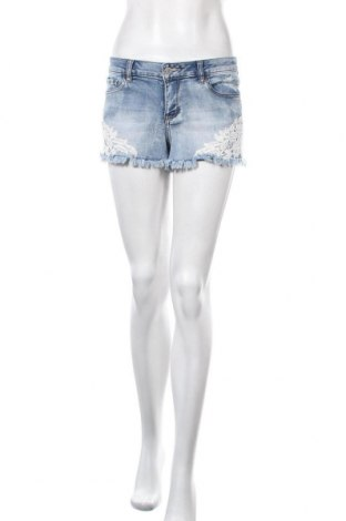 Γυναικείο κοντό παντελόνι Ardene, Μέγεθος S, Χρώμα Μπλέ, 72% βαμβάκι, 24% πολυεστέρας, 2% βισκόζη, 2% ελαστάνη, Τιμή 11,04€
