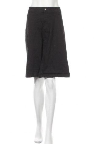 Γυναικείο κοντό παντελόνι Avella, Μέγεθος 3XL, Χρώμα Μαύρο, Βαμβάκι, ελαστάνη, Τιμή 5,85€