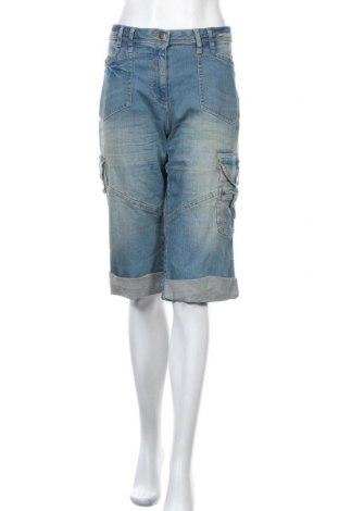 Дамски къс панталон Cheer, Размер XL, Цвят Син, 98% памук, 2% еластан, Цена 11,34лв.