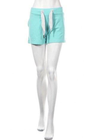Γυναικείο κοντό παντελόνι Elbsand, Μέγεθος XL, Χρώμα Μπλέ, 64% βαμβάκι, 30% πολυεστέρας, 6% ελαστάνη, Τιμή 15,21€
