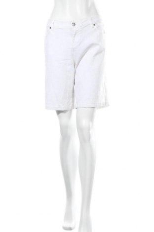 Γυναικείο κοντό παντελόνι Emerson, Μέγεθος XL, Χρώμα Λευκό, Βαμβάκι, ελαστάνη, Τιμή 16,24€