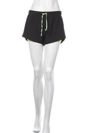 Дамски къс панталон H&M Sport, Размер M, Цвят Черен, Цена 17,64лв.