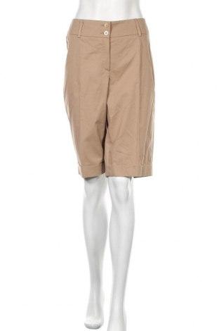 Γυναικείο κοντό παντελόνι Madeleine, Μέγεθος L, Χρώμα  Μπέζ, 97% βαμβάκι, 3% ελαστάνη, Τιμή 16,03€