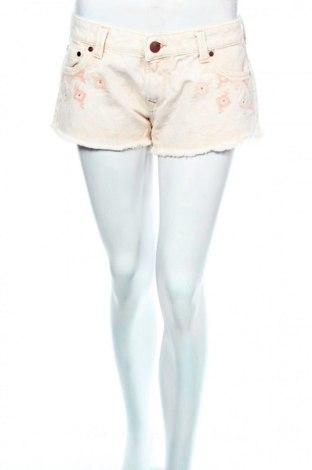 Γυναικείο κοντό παντελόνι Pepe Jeans, Μέγεθος XL, Χρώμα  Μπέζ, Βαμβάκι, Τιμή 16,33€